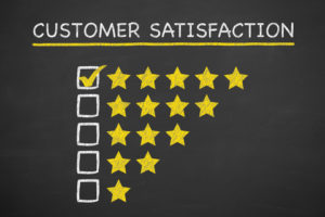 customer satisfaction ratings